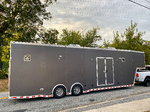 2009 ATC 38' Enclosed Aluminum Car Trailer Hauler Onan Gener