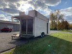 2013 Custom Sales Trailer,  Full Aluminum Frame