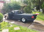 Chevy Ext Cab S10 Drag Truck Roller