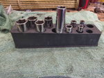 Snap on deep socket set