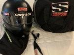 Simpson Race Helmet- Bandit Drag