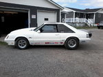 1986 fox body mustang prostreet or drag racing rolling