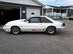 1986 fox body mustang prostreet or drag racing rolling