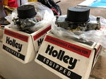 HOLLEY BLOWER CARBS (2)