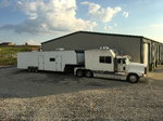 1992 Freightliner toterhome and 44' encloses traile