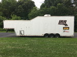 '03 Pace 36' 2-Car Stacker Gooseneck Trailer