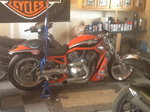 2006 Harley Davidson Destroyer drag bike VRSXE