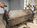 8' heavy duty sheet metal brake