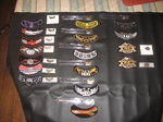 harley davidson HOG PATCHES AND PINS