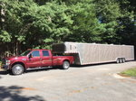2008 Frod F450 & 2009 48' Pace Trailer For Sale