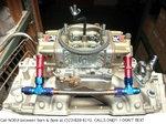 Holley 950cfm Performance Carb w/Edelbrock 454R Victor Jr. M