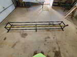 Double stack racing gokart tire rack. 10 ft. In length.&nbsp