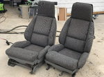 Corvette bucket seats