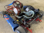 Birel shifter kart with built TM 125 motor