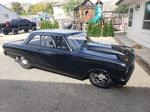 1963 chevy nova tubbed , turbo ls