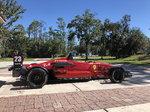 Never Raced Van Diemen Racecar