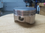 Forged LS 5.3L flat top pistons with rings, brand new!