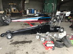 1 spitzer dragster and spare car and parts