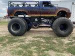 Monster ride truck
