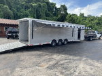 NEW 2019 32' OUTLAW RACE TRAILER- TRIPLE SPREAD AXLE