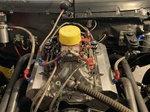 421 tall deck sbc nitrous motor w/ 18 degree heads
