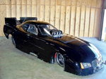Funny car, Big Show! AA/FC, car and trailer