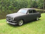 51 Ford 2 Dr Coupe Hot Rod