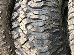 5 Milestar M/T Tires, 37 x 12 - 17