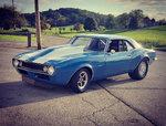 1968 LS Camaro Drag Week