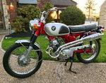 1969 Honda CL125 Scrambler