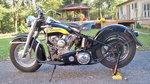 1956 Harley Davidson FL Handshift