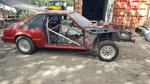 90 Mustang Fox Body Rolling Chassis