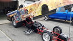 2002 Corvette Funny Car Transformers