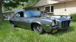 1973 Camaro drag car Pro Street