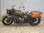 1942 Harley Davidson XA  for sale $15,850