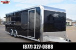 2020 ATC ALL ALUMINUM 8.5x24 RAVEN ENCLOSED CAR HAULER  for sale $14,348