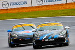 Pair of Porsche Cayman IMSA ST racecars  for sale $59,000