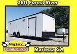 2020 8.5x28 Forest River Race Trailer, Loaded 6K Spread Axle