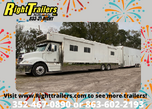 Motorcoach and Liftgate Trailer Bundle  for sale $299,000