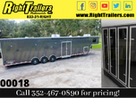 2021 8.5'x46' Vintage Race Trailer with Living Quarters for Sale