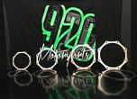 Stainless Exhaust trim ring  for sale $15