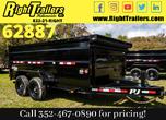 2021 7x14x2 PJ Dump Trailer for Sale