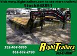 2021 8.5'x35' PJ Flatdeck Low Pro Trailer  for sale $15,499