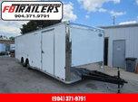 2021 28'  Cargo  Mate Car / Race Trailer  for sale $15,999