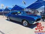 1969  oldsmobile   Cutlass S  for sale $34,995