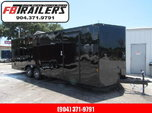 2021 Continental Cargo 24ft Black Out Car / Racing Trailer  for sale $6,999