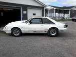 1986 fox body mustang prostreet or drag racing rolling   for sale $15,000