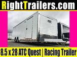 8.5x28 ATC Quest   Race Car Trailer