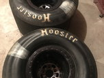 American Racing wheels and Hoosier tires  for sale $2,000
