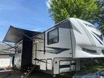 2019 16' Garage Toy Hauler - Forest River Vengeance 388V16  for sale $64,900